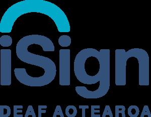 iSign Deaf Aotearoa - sponsor logo